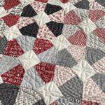 Valentine quilt Sweet Water fabric