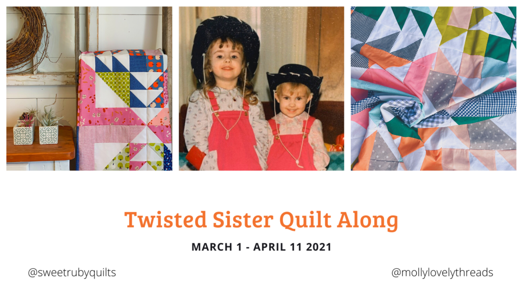 Twisted Sister Quilt Along Header