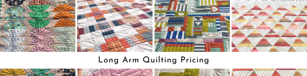 Long Arm Quilting Pricing Lovely Threads